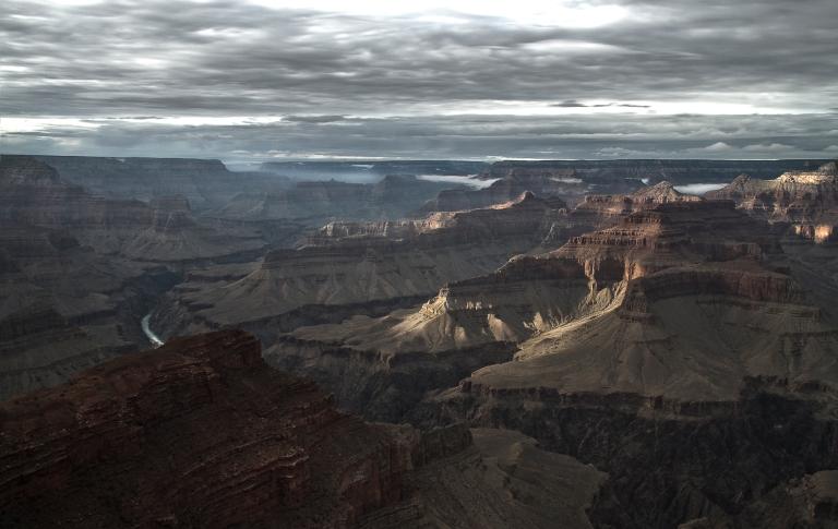 Grand Canyon National Park/ Colorado River/ West Rim Overlook.