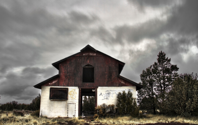 Abandoned, Barn..