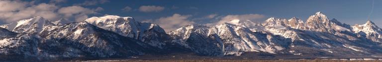 Grand Tetons Panorama