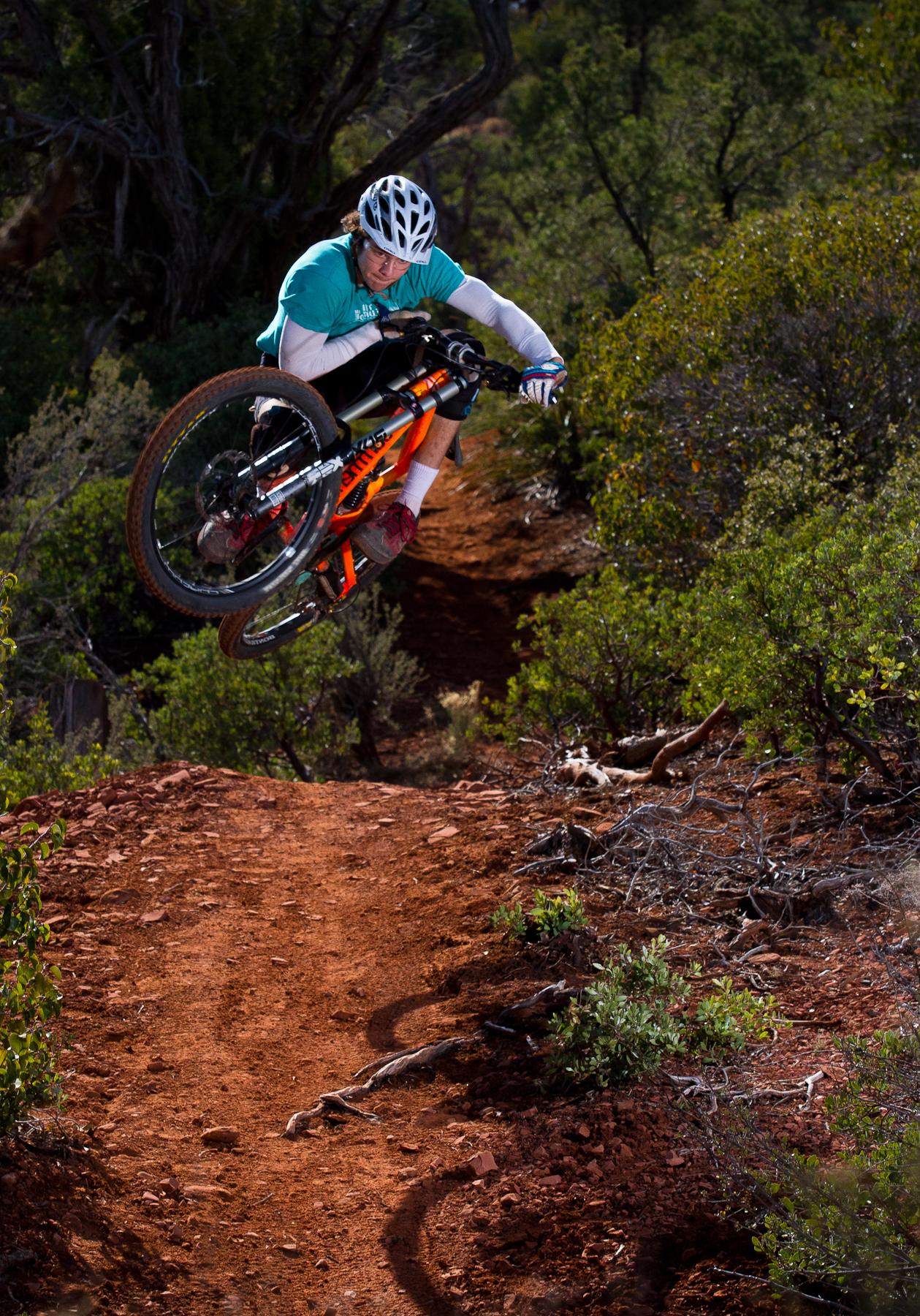 south of grand canyon is a mountain bike mecca sedona. Black Bedroom Furniture Sets. Home Design Ideas