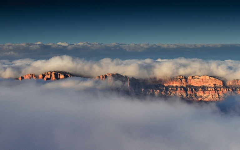 Cloud Inversion Grand Canyon